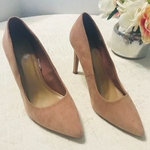 FOREVER 21 Pink closed toe High heels Sz 8